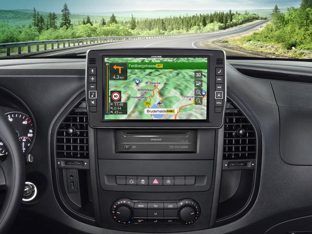 навигации Mercedes G 2019