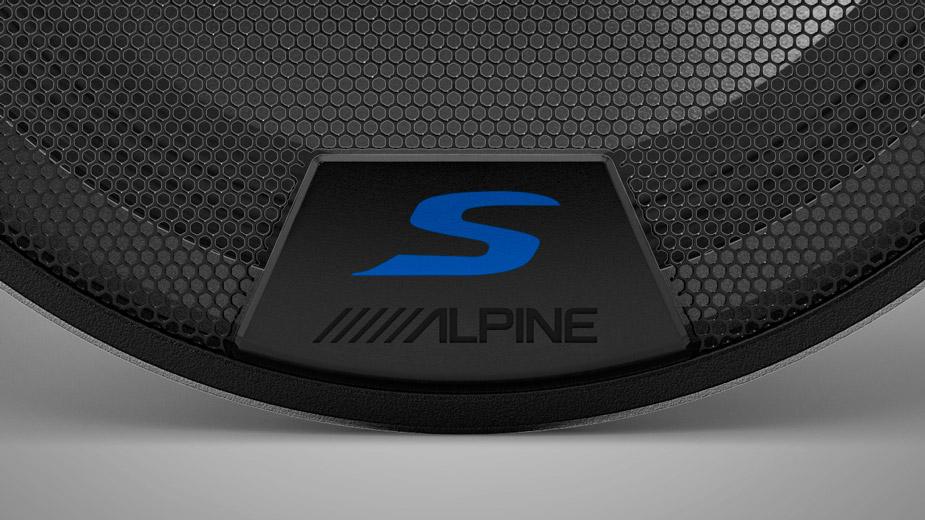 Alpine S-Series speaker