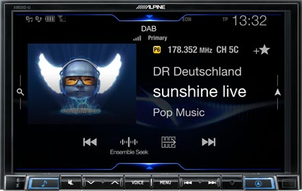 DAB+ Digital Radio - X802D-U