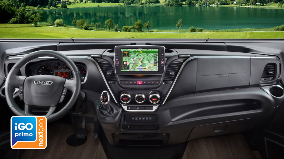 Alpine Style Navigation Designed for Iveco Daily - X902D-ID