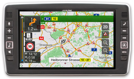 Mercedes Vito - Navigation - Plan Your Route  - X903D-V447