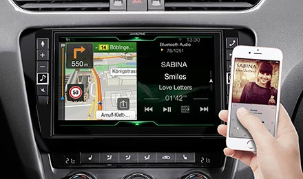 Skoda Octavia 3 - Navigation - One Look Display  - X903D-OC3