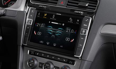 Golf 7 - Air Condition Display - X902D-G7