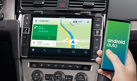 Online Navigation with Android Auto - X903D-G7