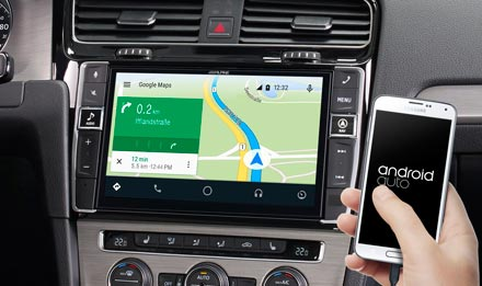 Online Navigation with Android Auto - i902D-G7