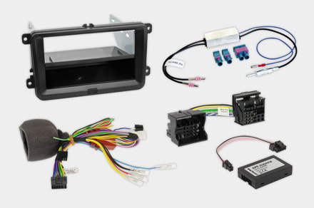 INE-F904T6 - 1DIN installation kit included