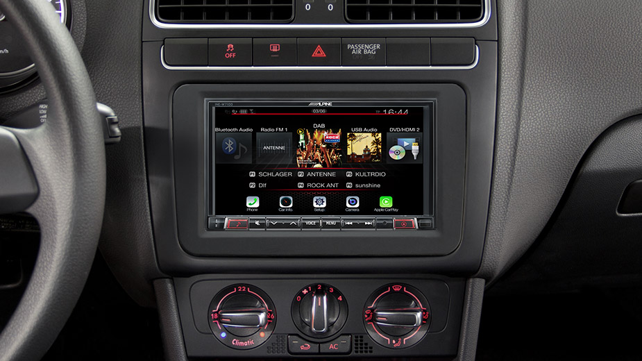 INE-W710D Navigation System in VW
